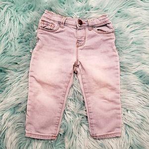 👑4/20👑 OSHKOSH light wash jeans - 12M